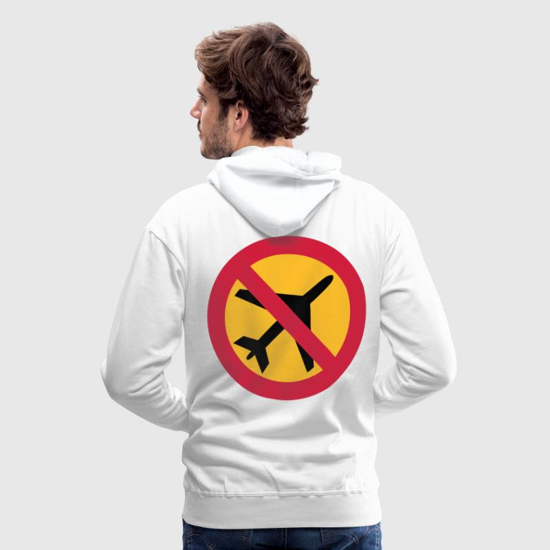 anti aéroport Sweat-shirts - Sweat-shirt à capuche Premium pour hommes