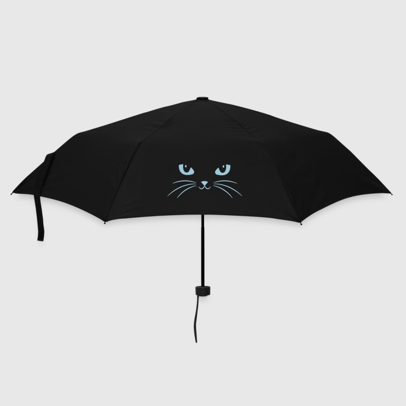 Cat Face With Big Eyes Umbrellas - Umbrella (small)