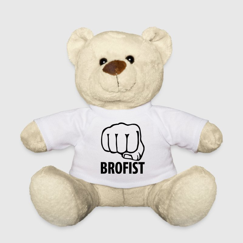 brofist / bro fist / fist bump 1c Teddies - Teddy Bear