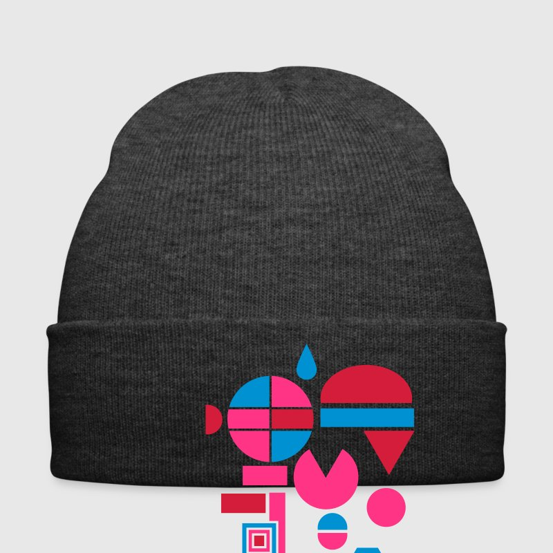 Various geometric shapes  Caps & Hats - Winter Hat