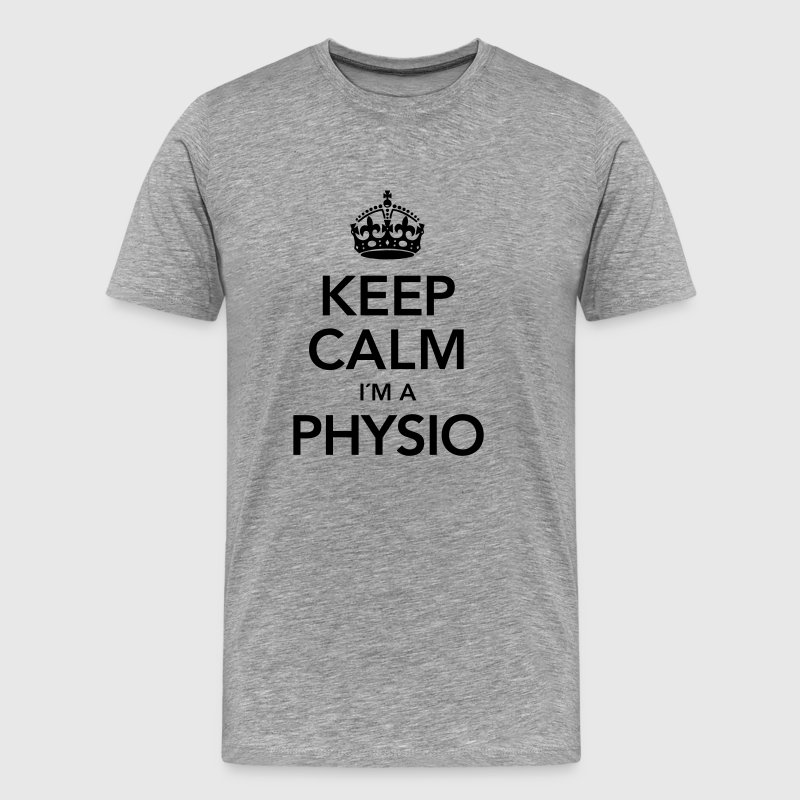 Keep Calm I´m A Physio T-Shirts - Men's Premium T-Shirt