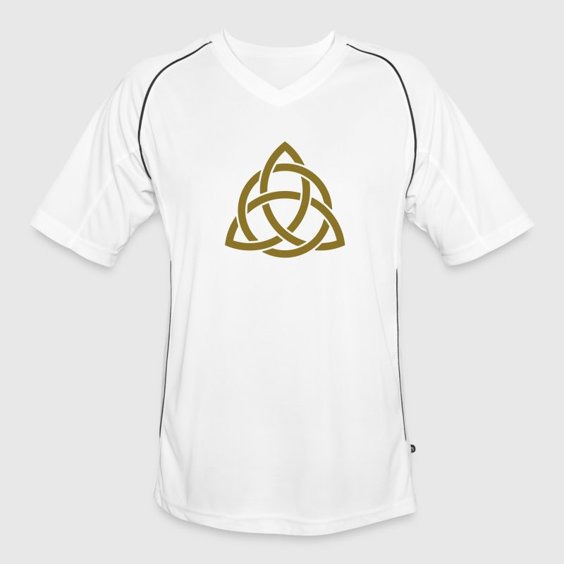Irish Trinity Knot Triquetra Celtic Patricks Day   - Men's Football Jersey
