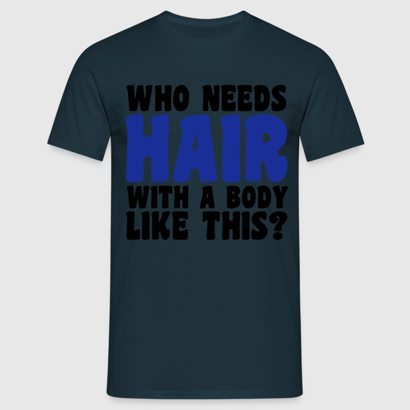 Hair T-Shirts - Men's T-Shirt