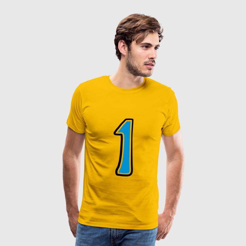 Number 1 one T-Shirts - Men's Premium T-Shirt
