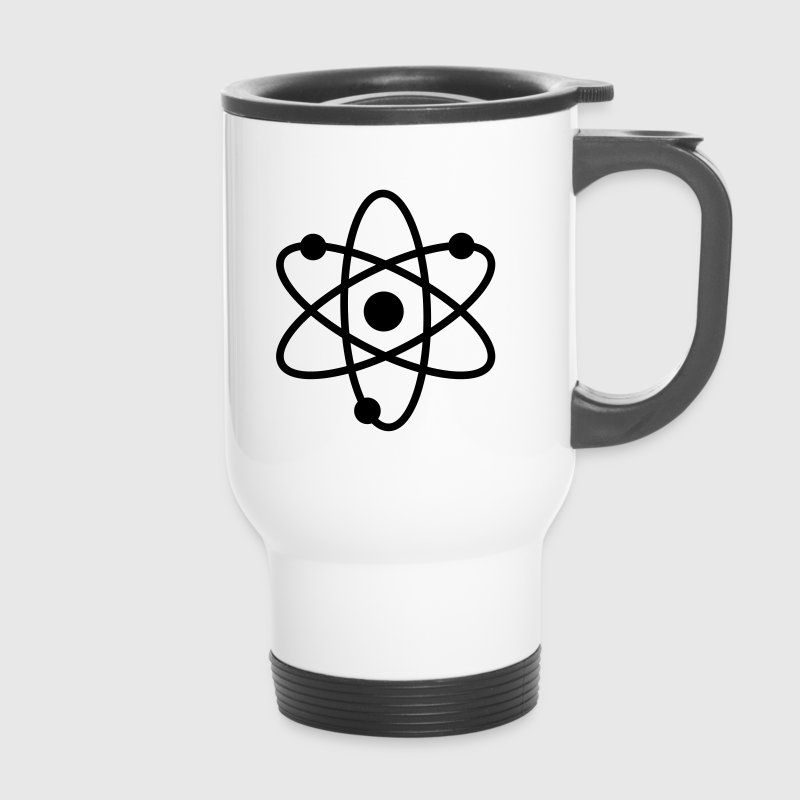 science symbol / nerd Flaschen & Tassen - Thermobecher