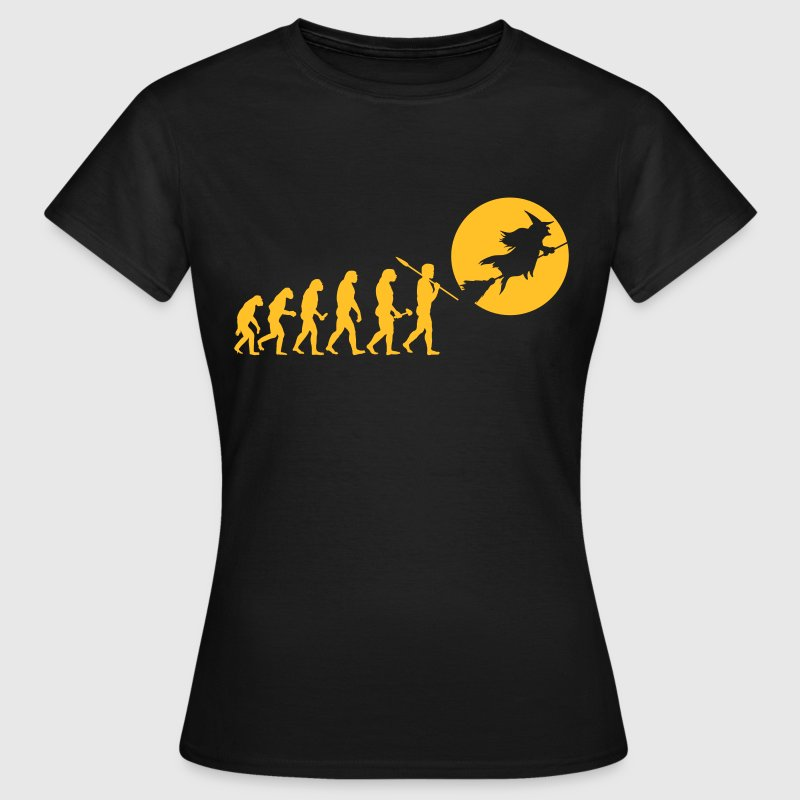 Evolution Hexe T-Shirts - Frauen T-Shirt