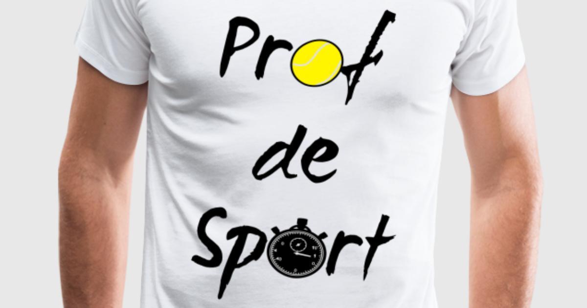 tee shirt prof de sport spreadshirt. Black Bedroom Furniture Sets. Home Design Ideas