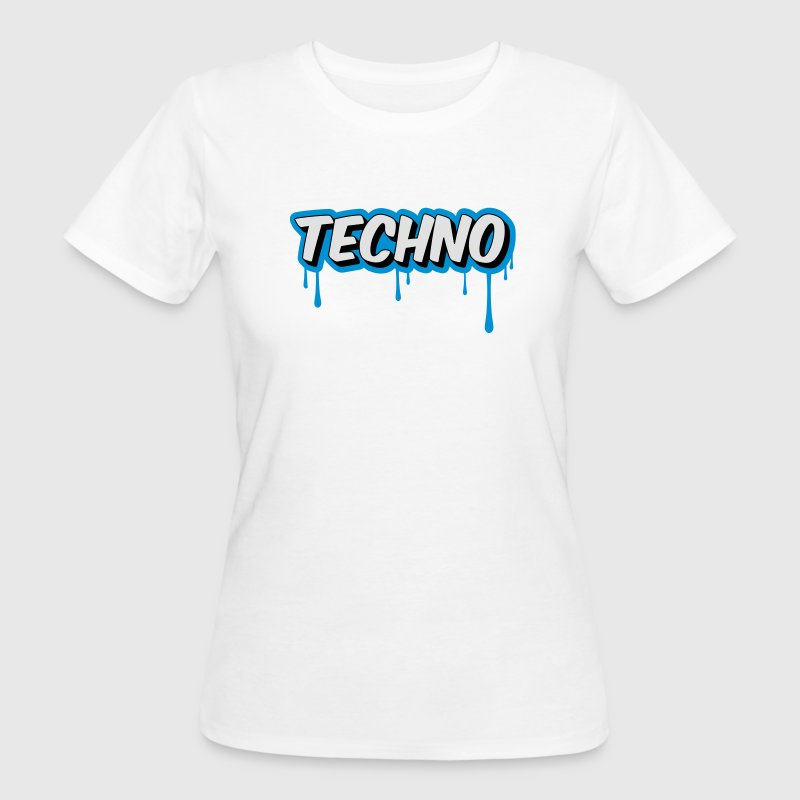 TECHNO - Party Camisetas - Camiseta ecológica mujer