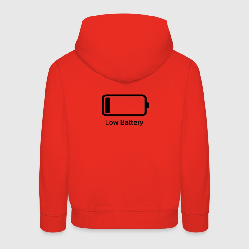 Low battery / Lustig & Cool / Ladebalken  Pullover & Hoodies - Kinder Premium Hoodie