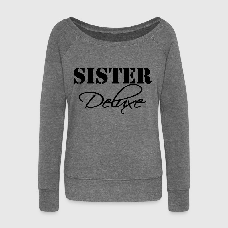 Sister Deluxe Sweat-shirts - Pull Femme col bateau de Bella