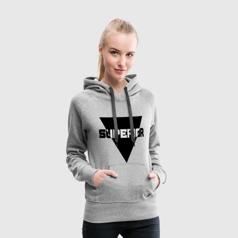 Superior Sweat-shirts - Sweat-shirt à capuche Premium pour femmes