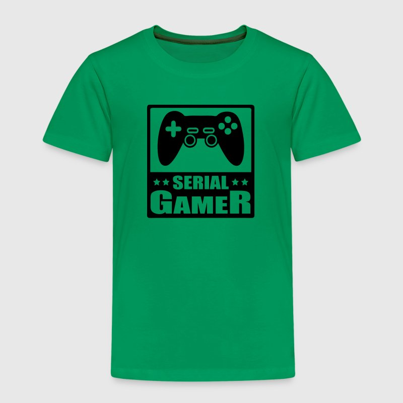 Serial gamer pour geek - T-shirt Premium Enfant