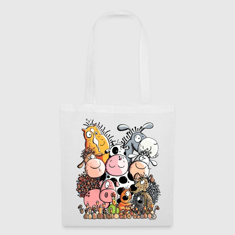funny farm animals Bags & Backpacks - Tote Bag