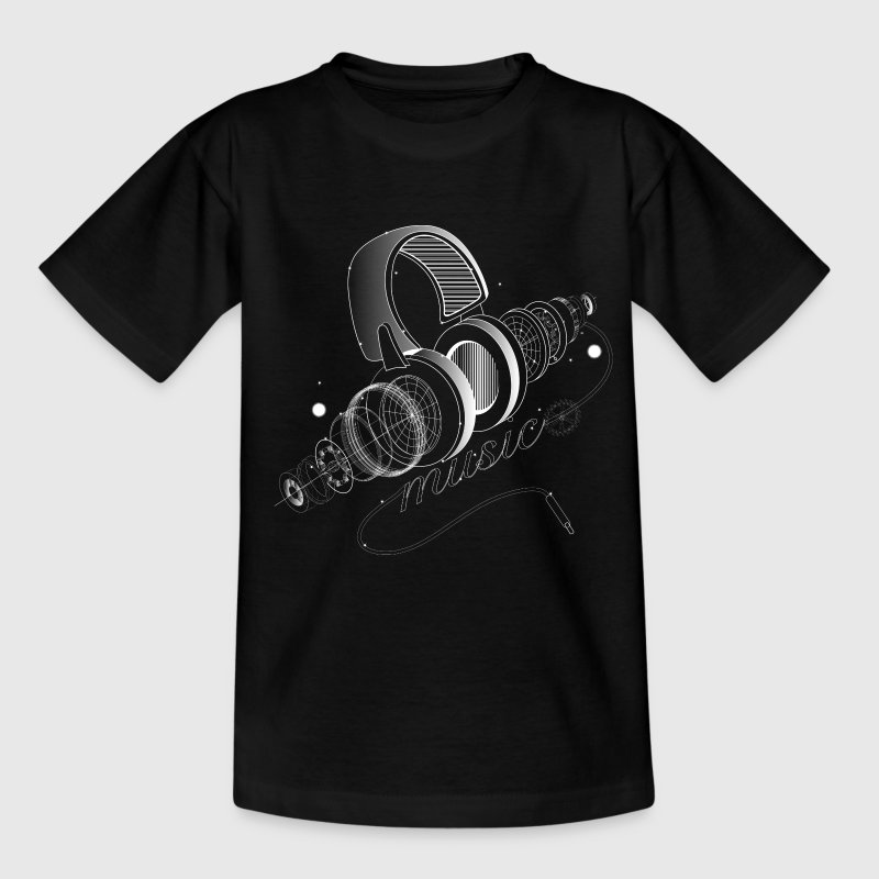 Items of headphones Shirts - Kids' T-Shirt