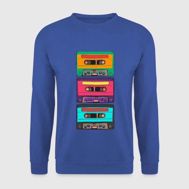 Colorful Cassettes Retro Hoodies & Sweatshirts - Men's Sweatshirt