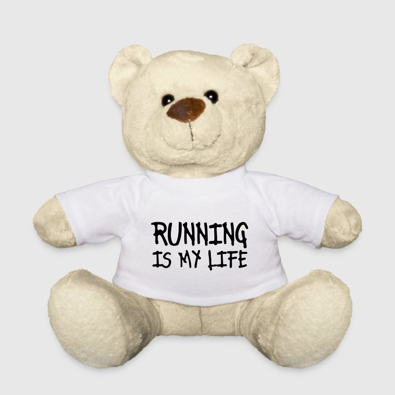 running is my life Ositos de peluche - Osito de peluche