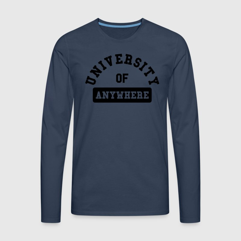 university of anywhere Tee shirts manches longues - T-shirt manches longues Premium Homme