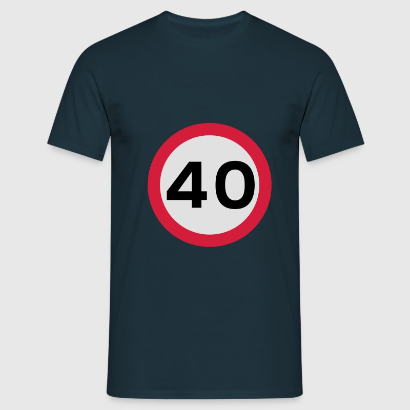 The BIG 40! - Men's T-Shirt