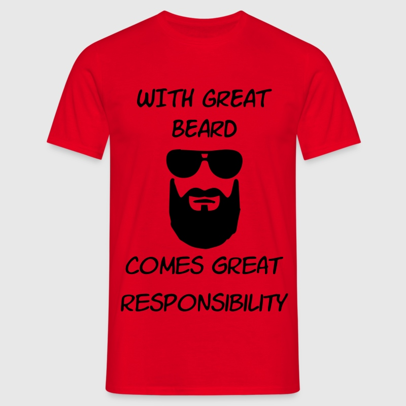 great beard T-Shirts - Männer T-Shirt