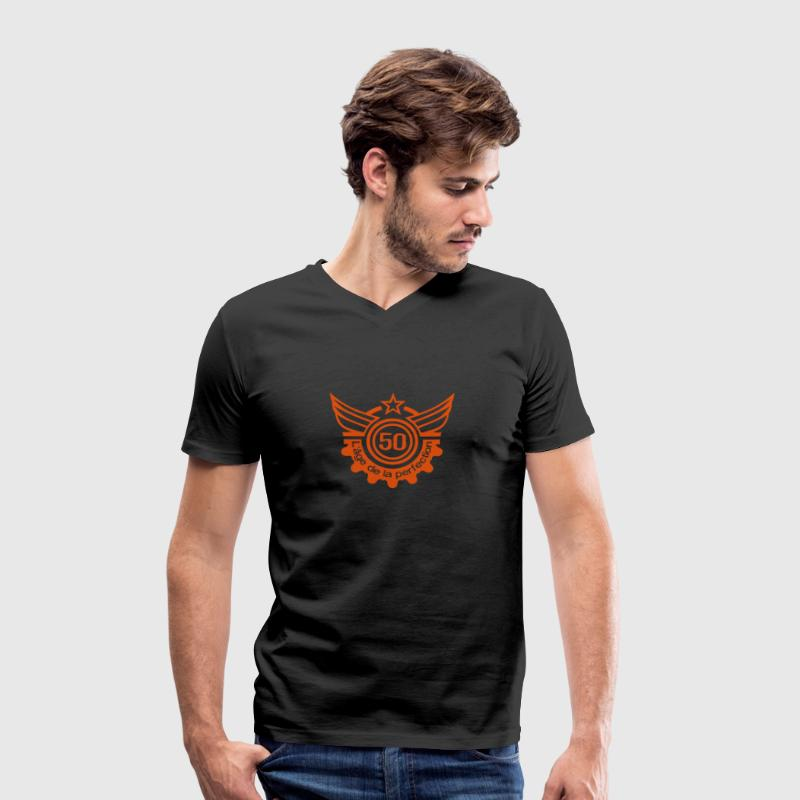 50 ans age perfection anniversaire Tee shirts - T-shirt Homme col V