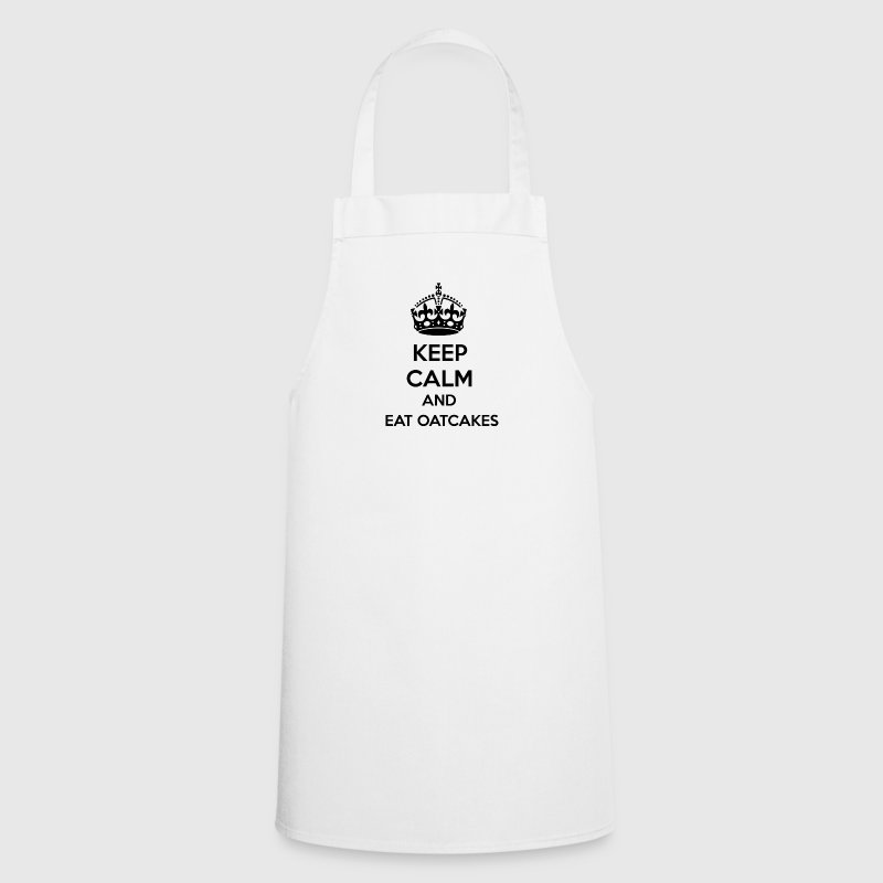 Keep Calm and Eat Oatcake  Aprons - Cooking Apron