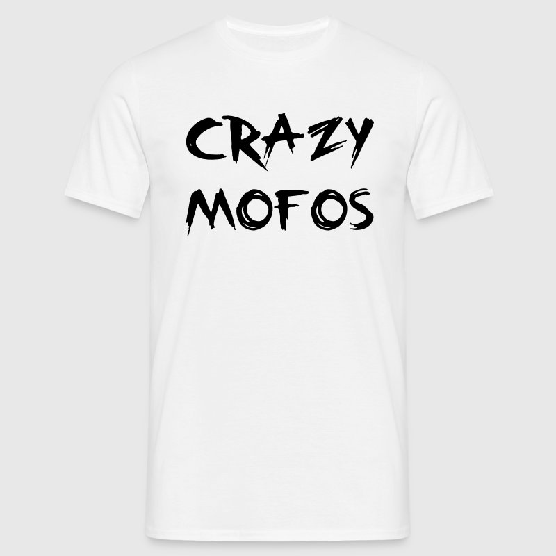 Crazy Mofo T-shirts - Herre-T-shirt