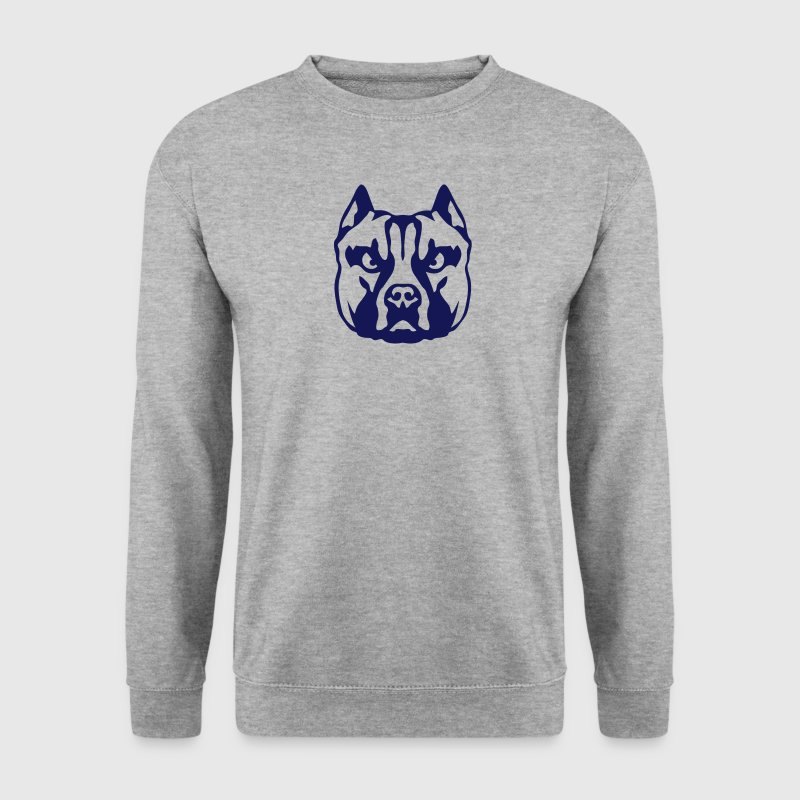 american staffordshire terrier chien 1 Sweat-shirts - Sweat-shirt Homme