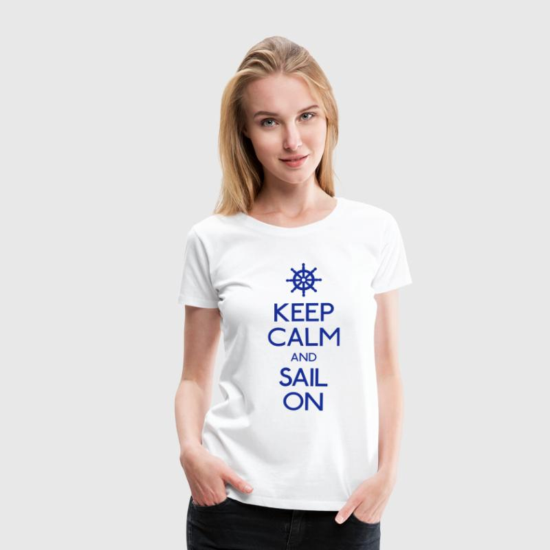 Keep Calm T-Shirts - Frauen Premium T-Shirt
