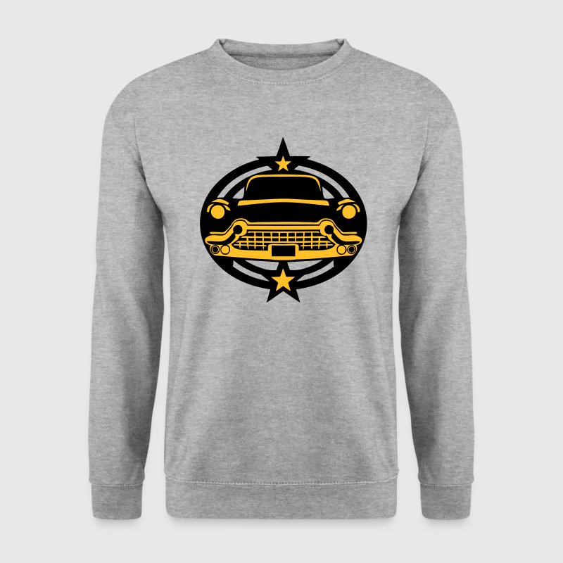 voiture vintage logo 25022 Sweat-shirts - Sweat-shirt Homme