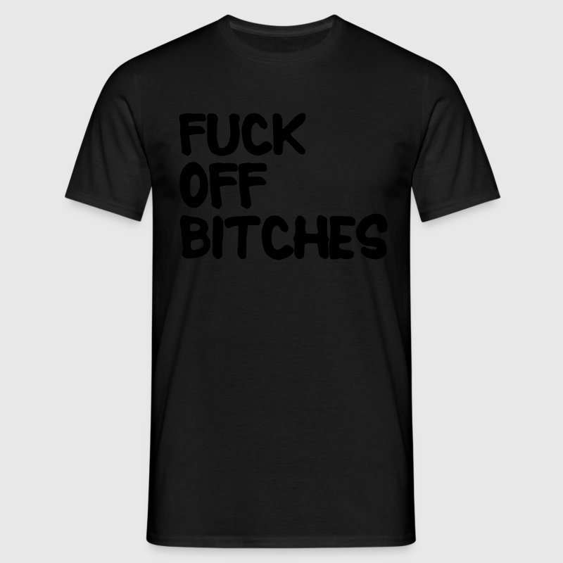 Fuck Off T-shirts - Mannen T-shirt
