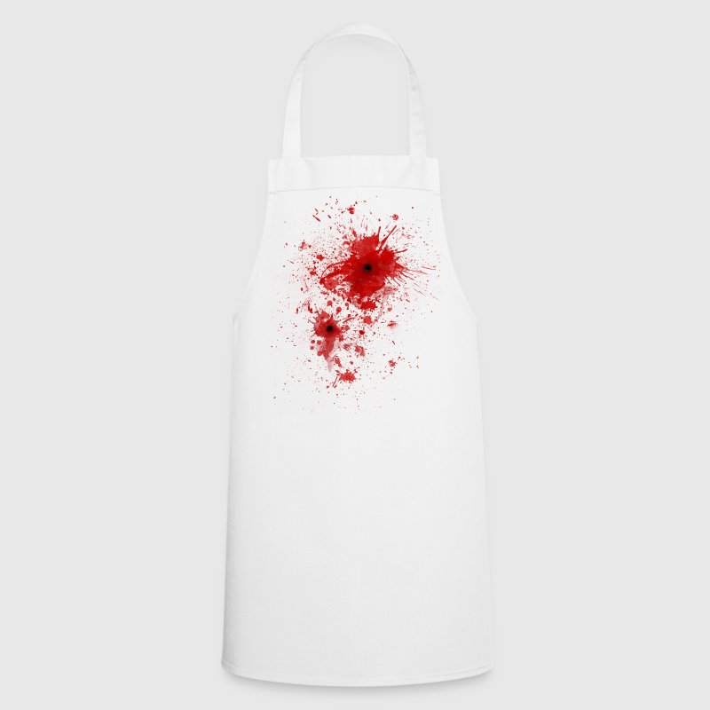Blood spatter / bullet wound - Costume   Aprons - Cooking Apron