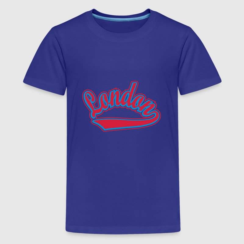 London - T-shirt Personalised with your name Shirts - Teenage Premium T-Shirt