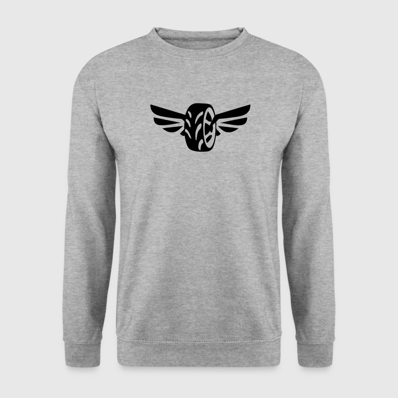 pneu voiture roue aile aille 208 Sweat-shirts - Sweat-shirt Homme