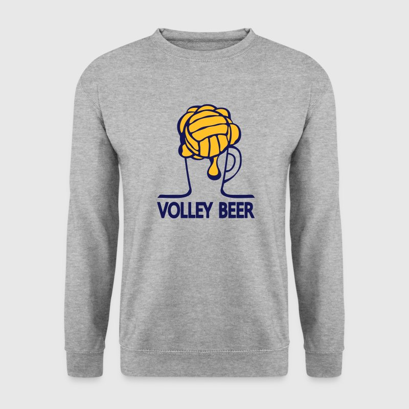 volley beer verre humour sport 1 Sweat-shirts - Sweat-shirt Homme