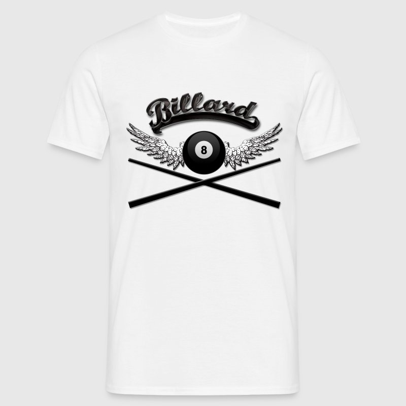 Billard Logo T-Shirts - Men's T-Shirt