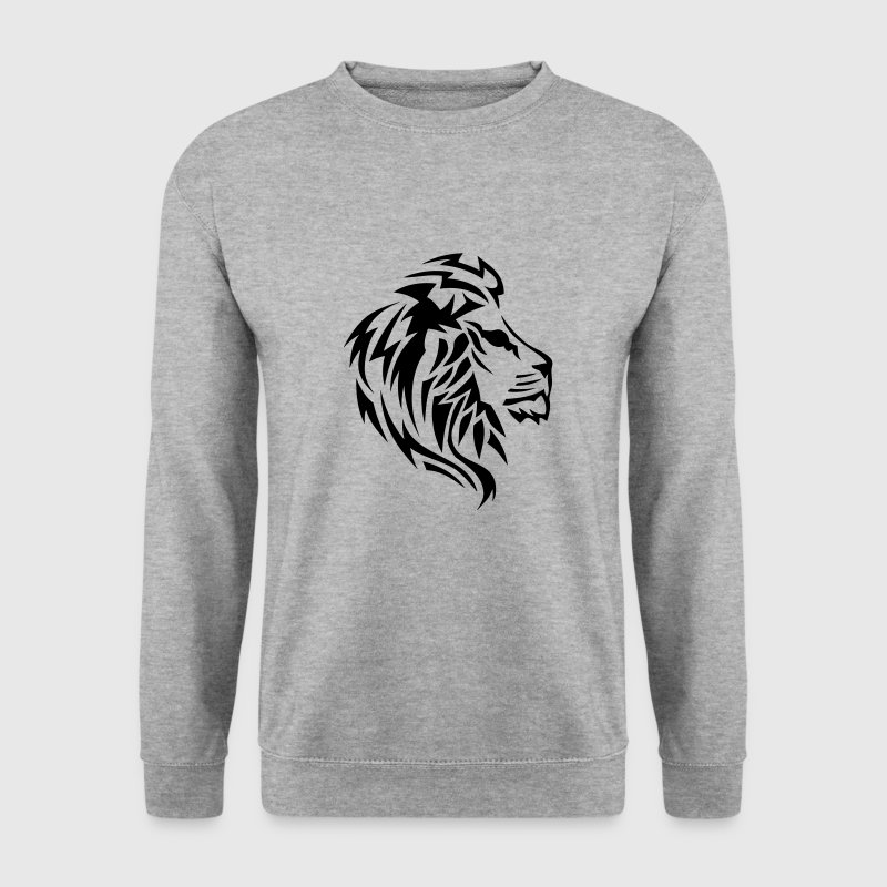 lion tribal tatouage dessin 14023 Sweat-shirts - Sweat-shirt Homme