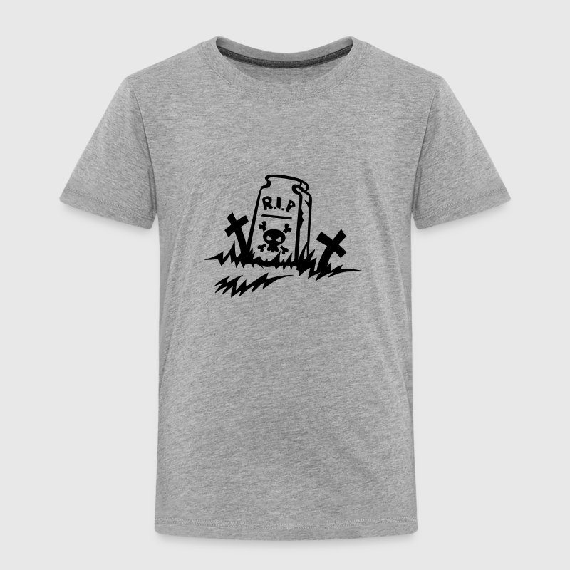 rip reste in peace tombe dessin Tee shirts - T-shirt Premium Enfant