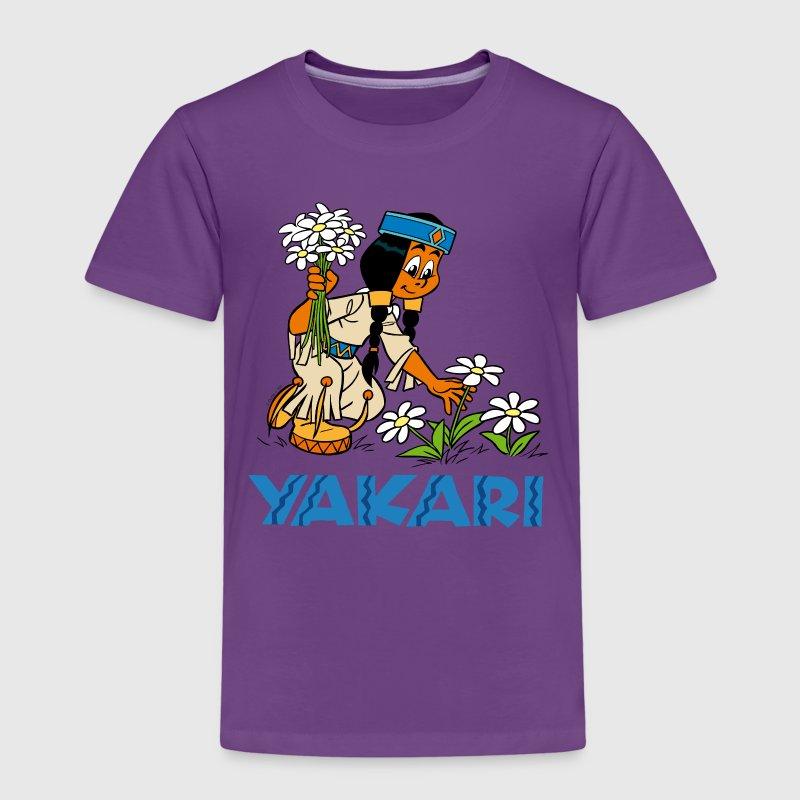 yakari regenbogen kinder premium t shirt t shirt. Black Bedroom Furniture Sets. Home Design Ideas