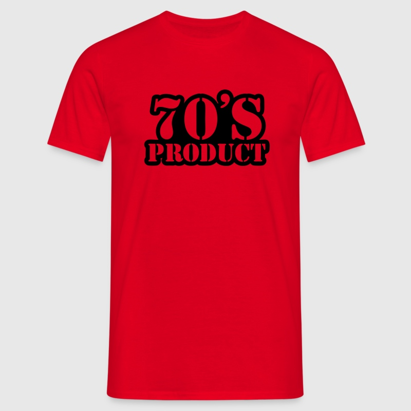 70's product T-shirts - Herre-T-shirt