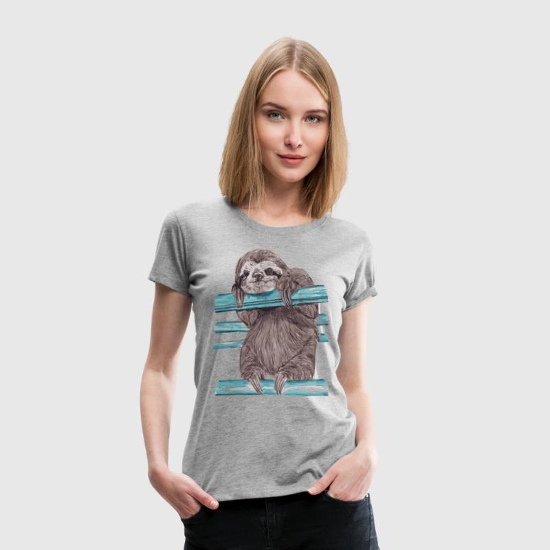 hey mr sloth - Women's Premium T-Shirt