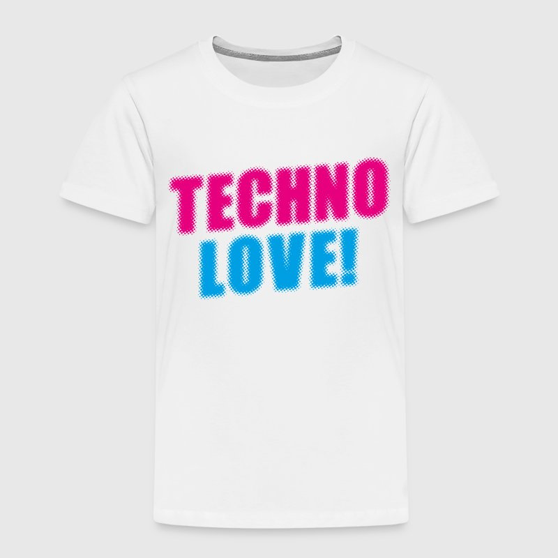Techno Love! T-Shirts - Kinder Premium T-Shirt