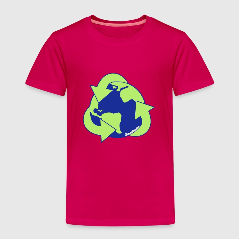 Planet Reduce Reuse Recycle Shirts - Kids' Premium T-Shirt