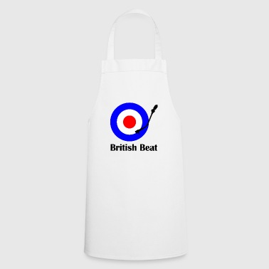 british beat Bottles & Mugs - Cooking Apron