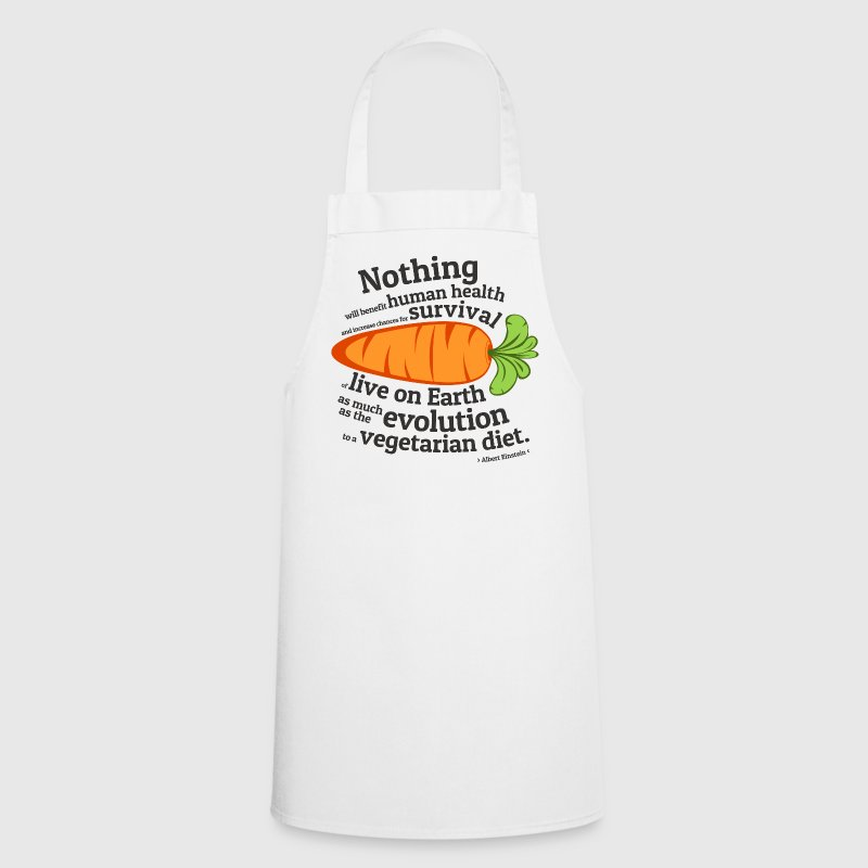 Vegan Vegetarian Evolution  Aprons - Cooking Apron
