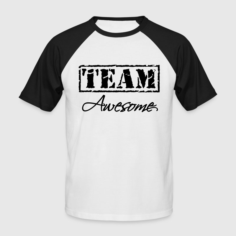 Team Awesome T-Shirts - Men's Baseball T-Shirt