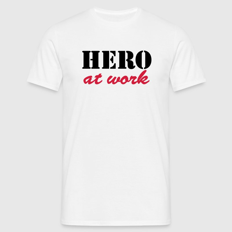 Hero at work T-Shirts - Men's T-Shirt