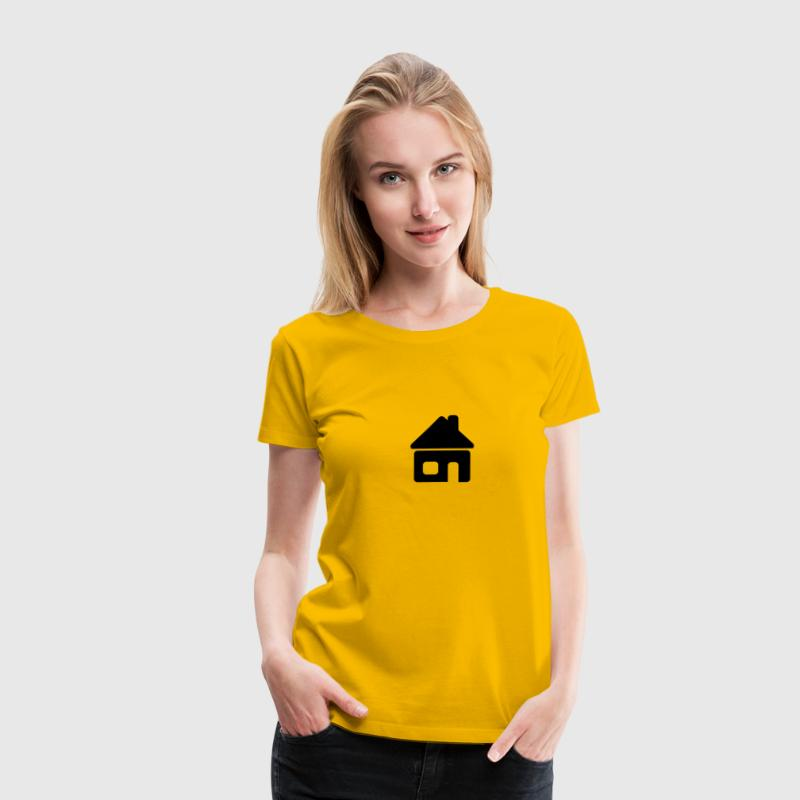Small house logo T-Shirts - Women's Premium T-Shirt