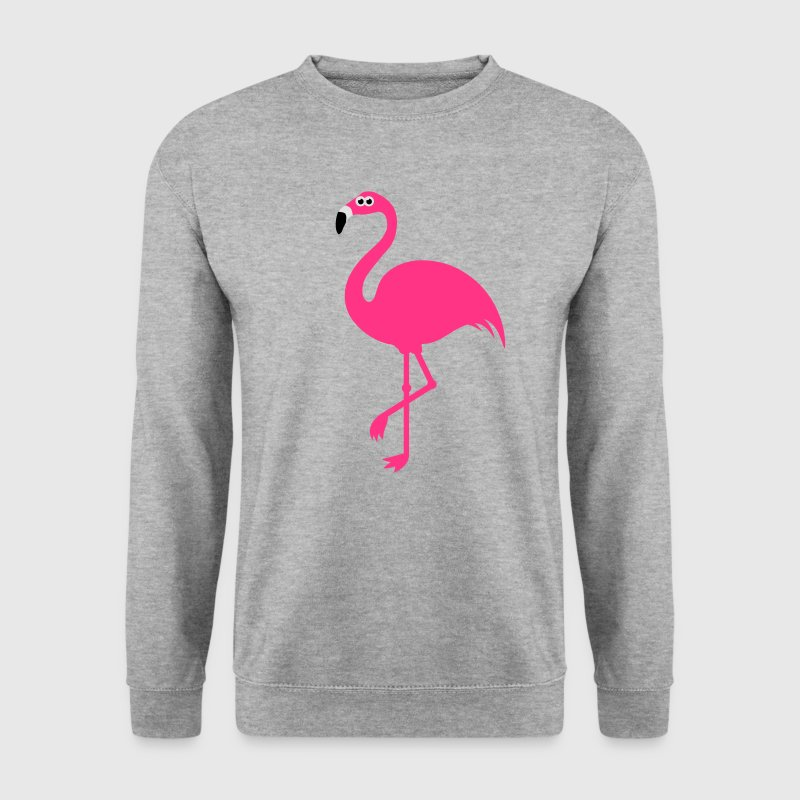 Funny Sweet Flamingo Gensere - Genser for menn