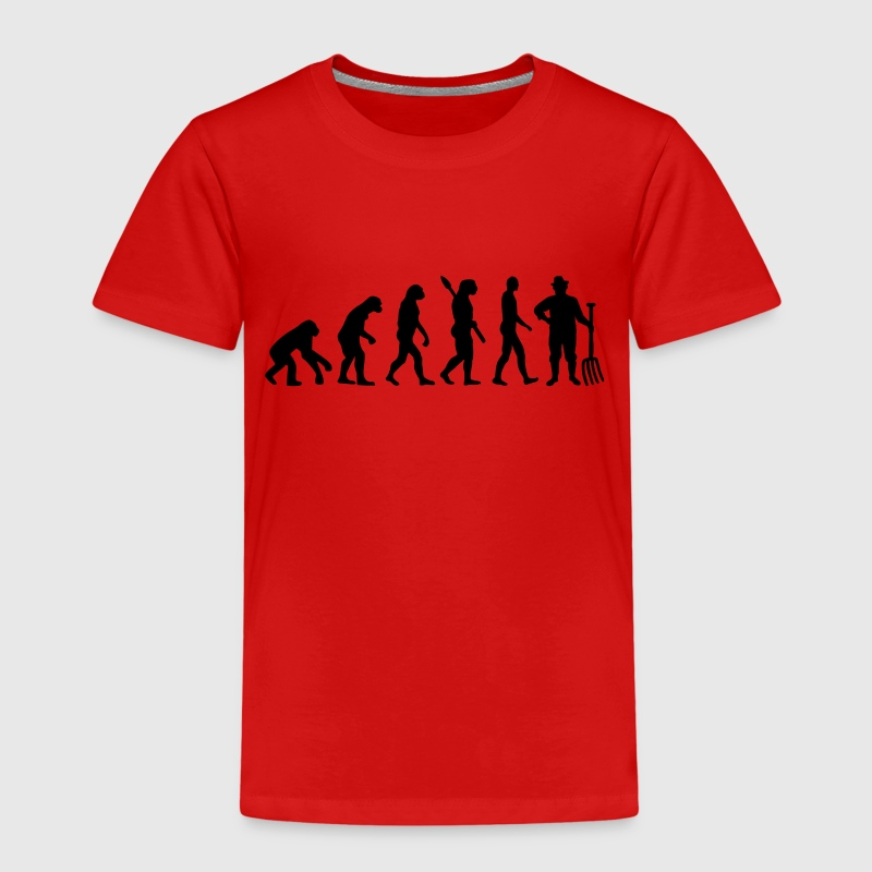 Evolution Bauer T-Shirts - Kinder Premium T-Shirt