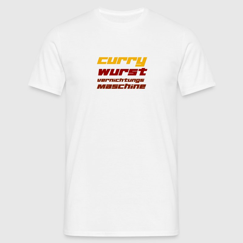 Currywurst T-Shirts - Men's T-Shirt